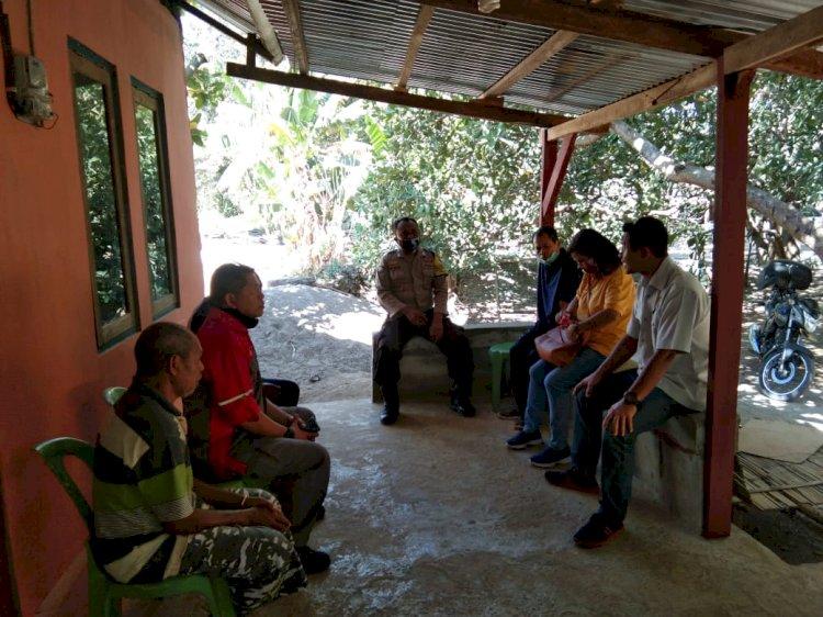 Putus Rantai Penyebaran Covid 19, Bhabinkamtibmas Kelurahan FatukoaBerikan Himbauan Kepada Warga Binaan