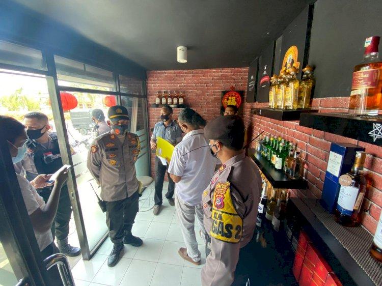 Operasi Pekat Turangga 2020, Miras Bebagai Jenis dan Merk Disita oleh Polres Kupang Kota