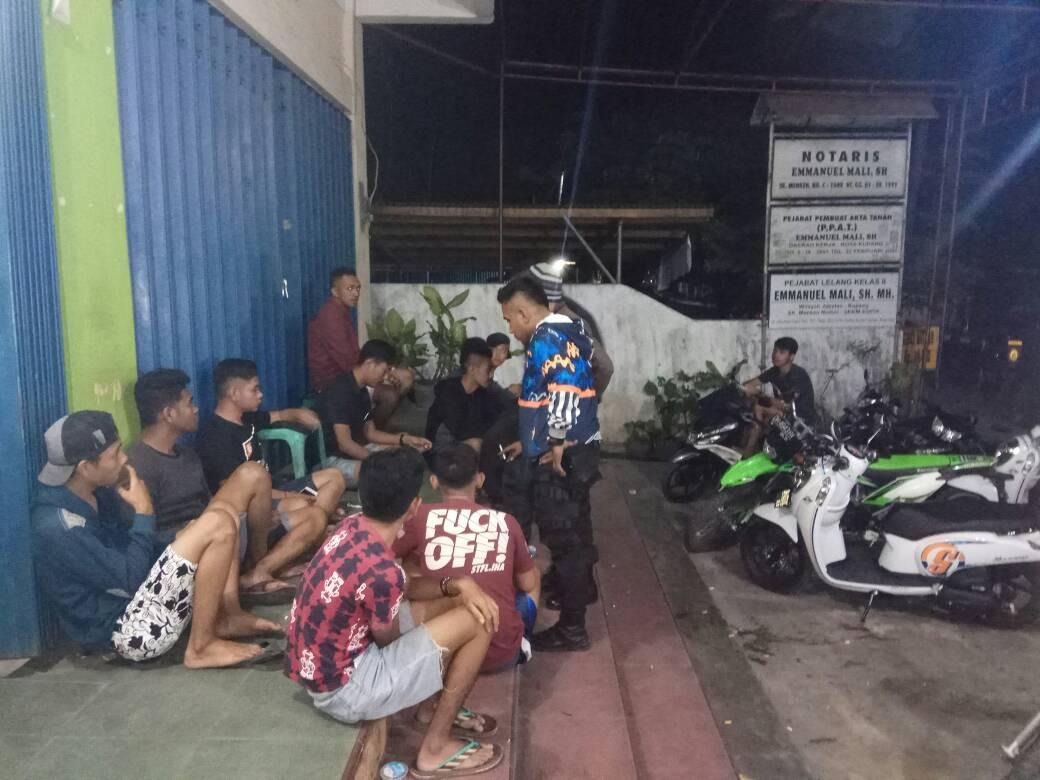 Cegah Gangguan Kamtibmas, Polres Kupang Kota Gelar Operasi Kepolisian yang Ditingkatkan.