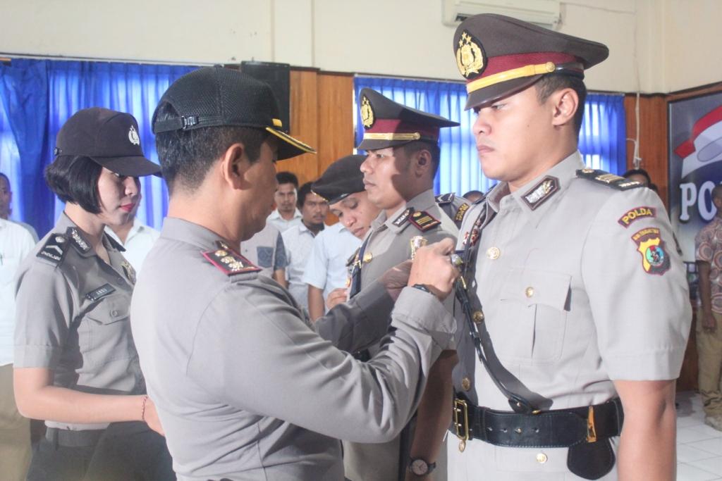 Kapolres Kupang Kota Pimpin Upacara Sertijab Kasat Reskrim dan Kasat Narkoba
