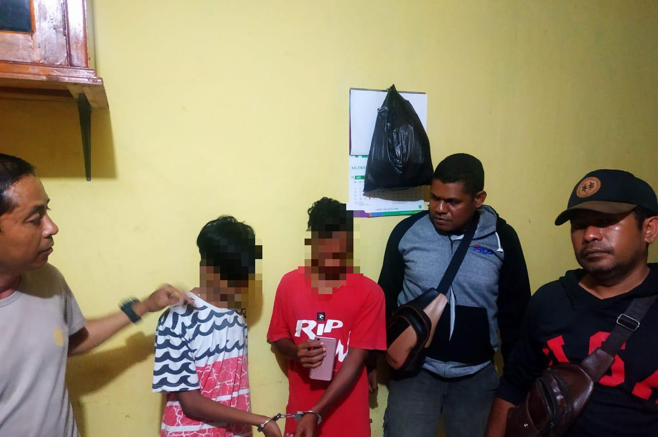 Polsek Alak Berhasil Mengamankan 2 Orang Anak Dibawah Umur yang Merupakan Komplotan Pencuri Handphone