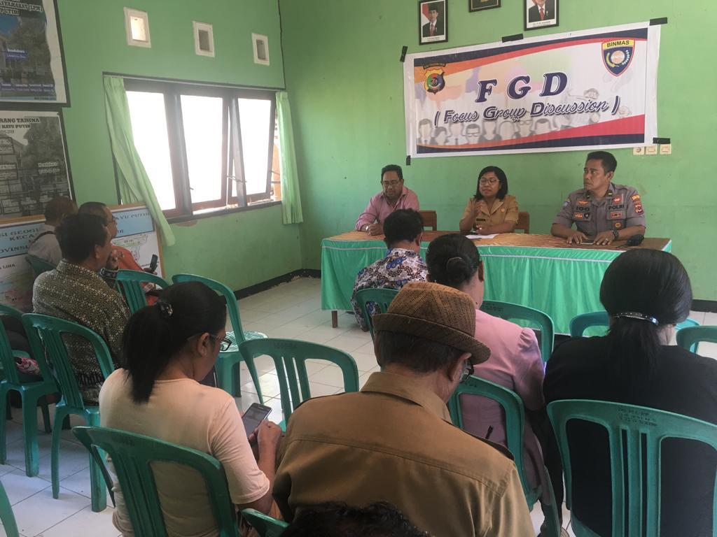 Sat Binmas Polres Kupang Kota Gelar Focus Group Discussion