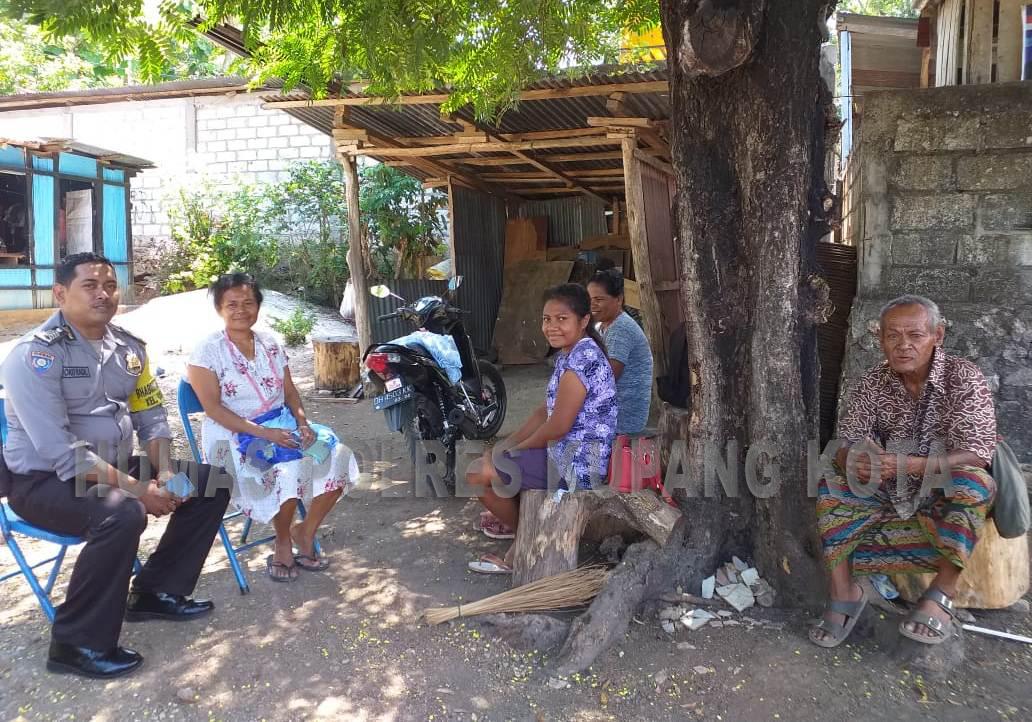 Jalin Kemitraan,Bhabinkamtibmas Kelurahan Batuplat Rutin  Kunjungi Warga Binaannya.