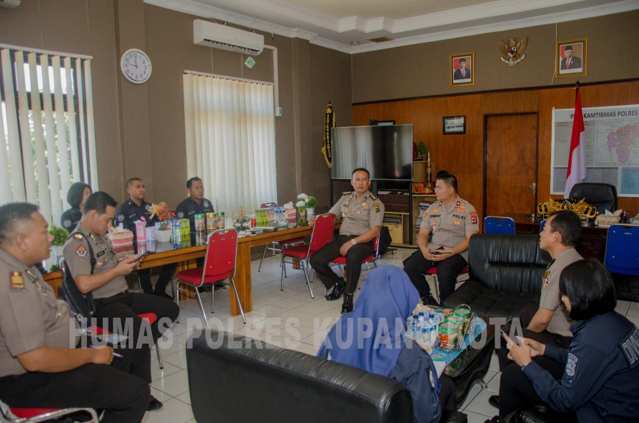 Polres Kupang Kota  Terima Kunjungan Tim Supervisi Divisi Humas Polri.