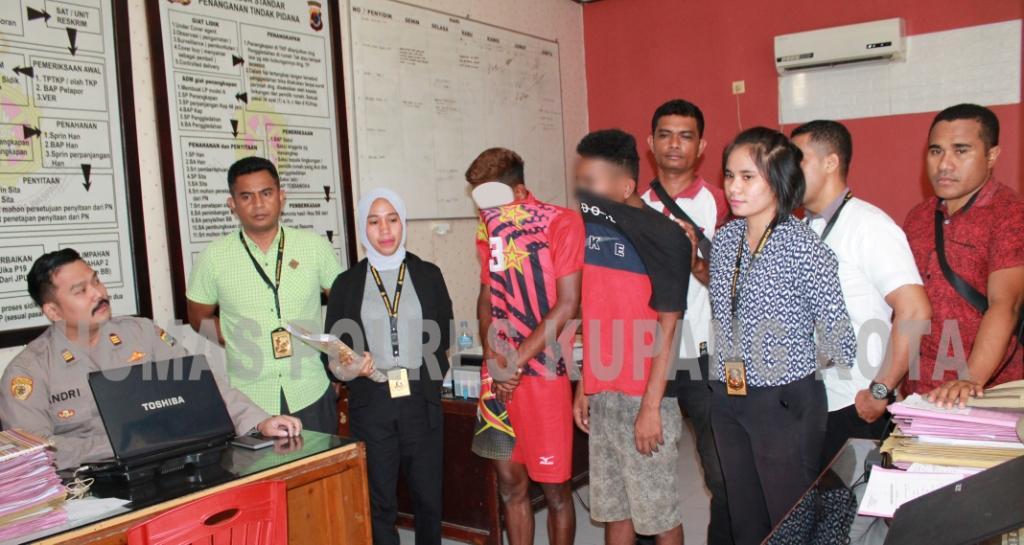 Tim Buser Polsek Kelapa Lima Amankan Tiga  Sopir Angkot Pemerkosa Gadis Dibawah Umur